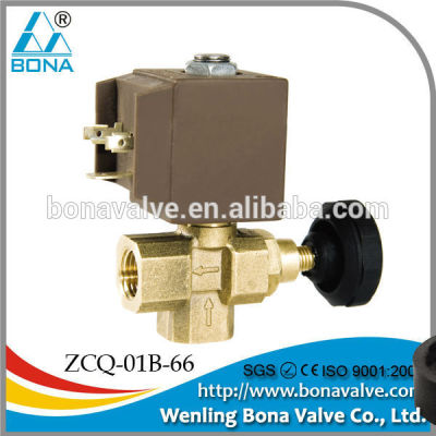 China Manufacturer Bona Valve Steam/Liquid/Air Brass Solenoid Valve 1/4
