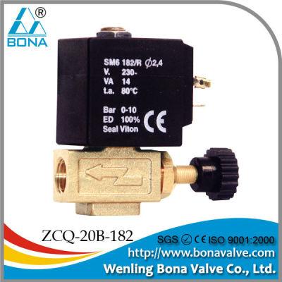 china manufacturer steam solenoid valve SAMA type