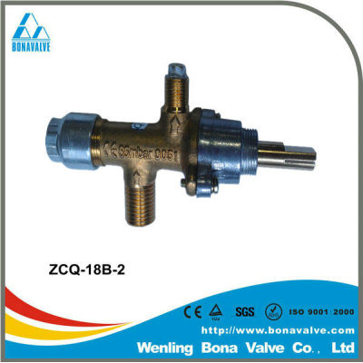 gas control valve for gas heater