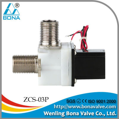 china supplier 1/2inch 90 degree pulse / latching solenoid valve