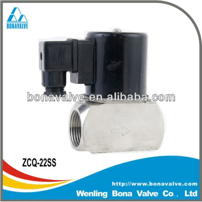 Stainless Steel Solenoid Valve/Hot water valve (ZCQ-22SS)