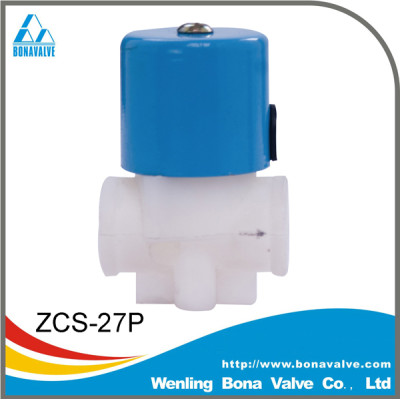 BONA Plastic Water Solenoid Valve for RO systerm ZCS-27P
