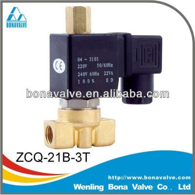 3 way Solenoid Valve / Hot water valve for Coffee machine (ZCQ-21B-3T)