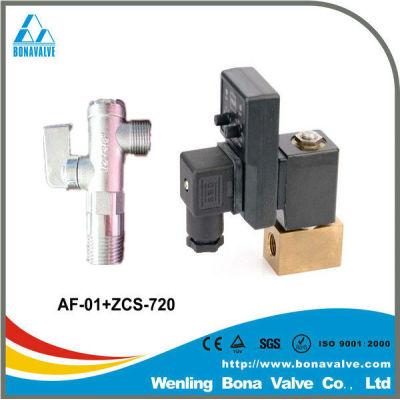china supplier air compressor parts solenoid valve