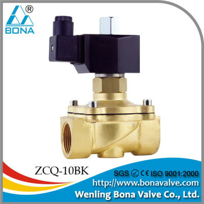 Normally Open Direct Acting Brass Solenoid Valve Generally Use3/8