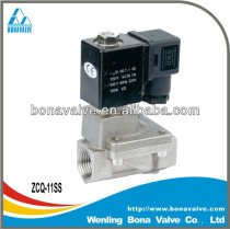 2 way Stainless Steel Solenoid Valve (ZCQ-11SS)