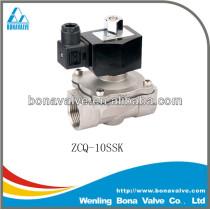 Nomally Open Stainless Steel Solenoid Valve / water valve (ZCQ-10SSK)