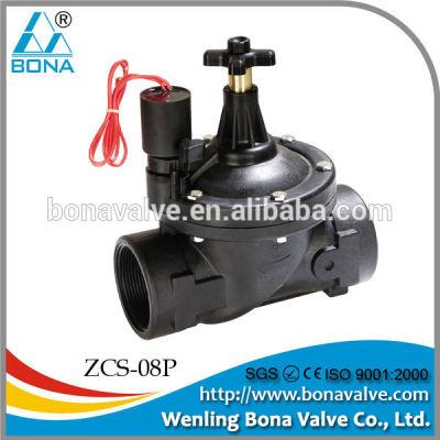 brass water solenoid valve