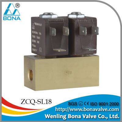 double solenoid valve, dual solenoid valve(ZCQ-SL18)