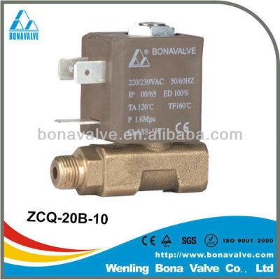 BONA solenoid valves for steam boiler/ generator
