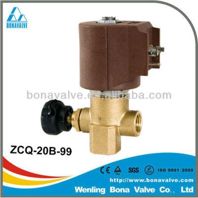 solenoid valves with flow adjust/ 2/2 way
