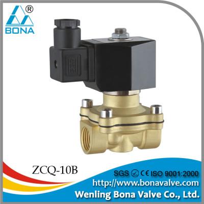Oil/Water/Air Standard BONA Brass Solenoid Valve big orifce, 2/2 way direct action