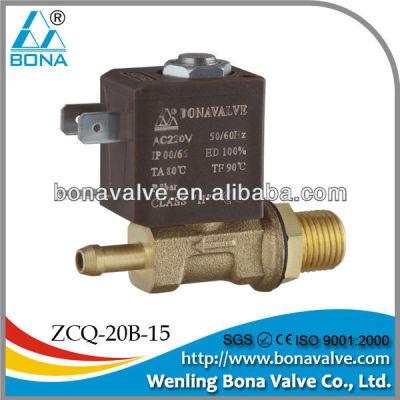 BONA Brass Solenoid Valve for Welding Machine ZCQ-20B-15 6.5mm