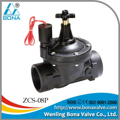 China Manufacturer BONA Nylon Reinforced Solenoid Valve for Irrigation 50mm