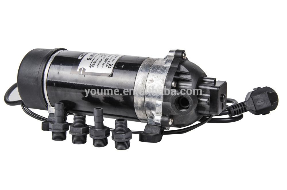 Pressure Pump: Adjusting Pressure Pump Switch