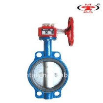 cast iron fire butterfly valves with signal output,butterfly valves of Mintai