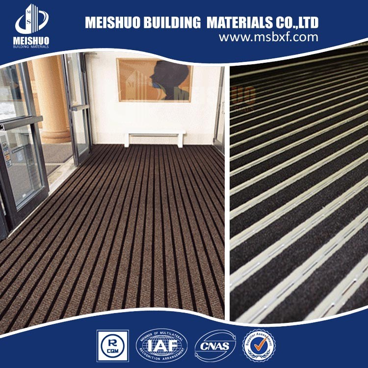 MEISHUO heavy duty plastic floor entrance mat made in china
