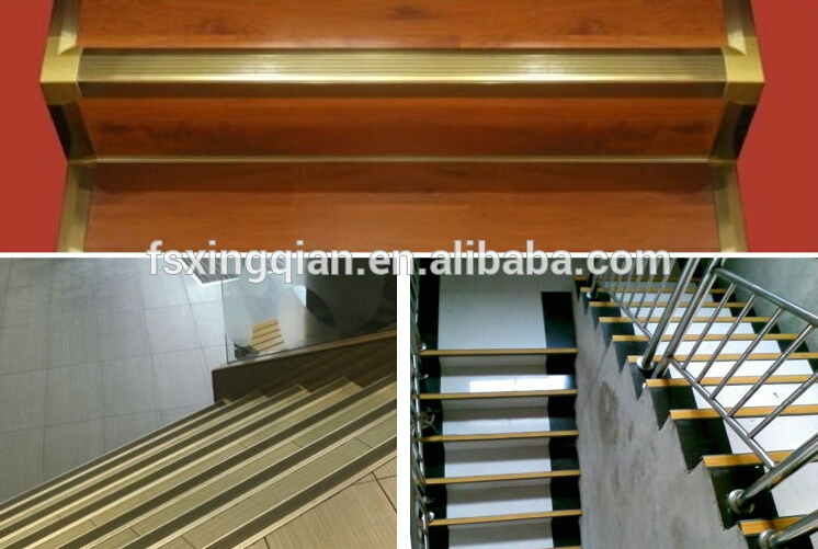Stair nosing for ceramic tile