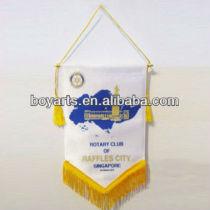 football pennant flag