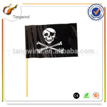 (TW4051)Eco-friendly PE Hand Held Flag