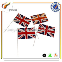 (TW4052)Eco-friendly PE Hand Held Flag With Customized Logo