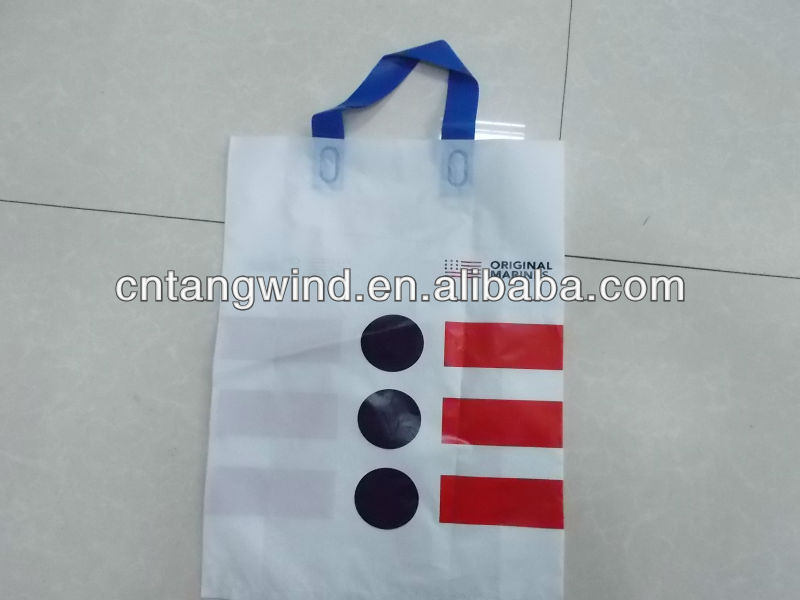 PE Bag For Hardware Packing With PET Flake Inside