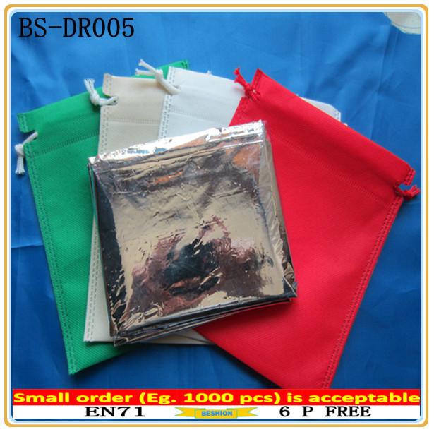 High quality unique fashional custom drawstring shoe bag