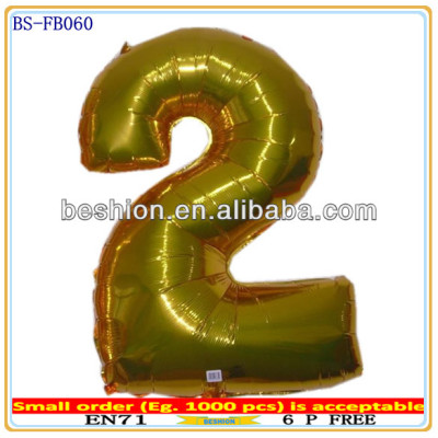 Giant letter foil balloons party decorations