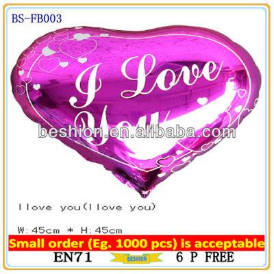 custom foil balloon