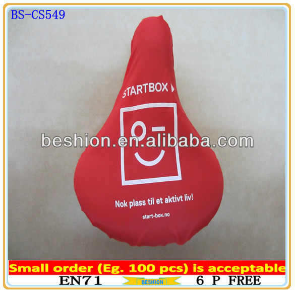 High quality waterproof promotional bicycle seat cover, promotional bike seat cover