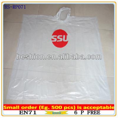 Promotion rain poncho pattern