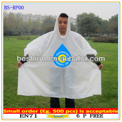 Promotional Waterproof Disposable poncho