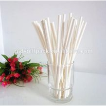 Disposable colorful Party Paper wrapped drinking straw