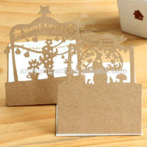 New Arrival Creative Design Christmas Greeting Card
