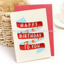 Wholesale New Design Happy Birthday Greeting Card