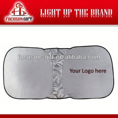 Promotion product Logo printed car window sunshade