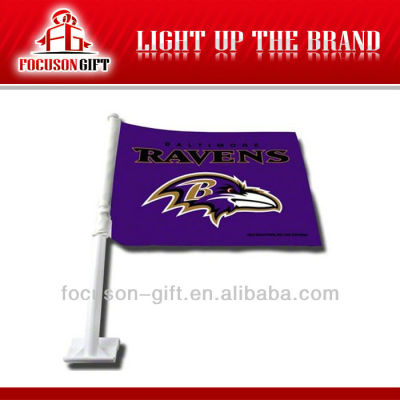 Hot Selling Polyester Window Car Flags