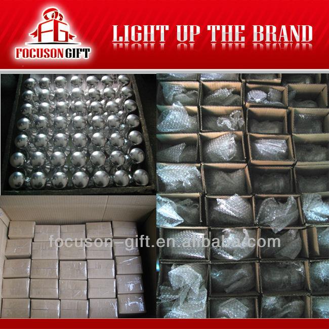 Promotion custom logo Aluminum Handle Stainless Steel Base tamper