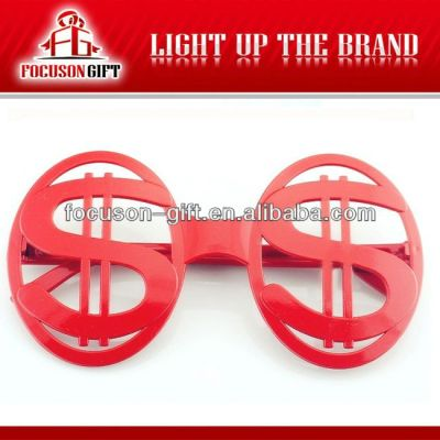 2014 World Cup Fans Gift red fan party glasses
