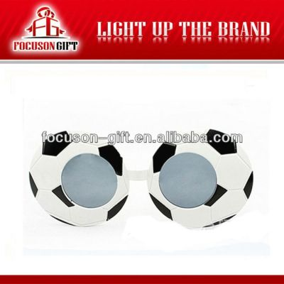 World Cup Fans Party Gift football shape glasses