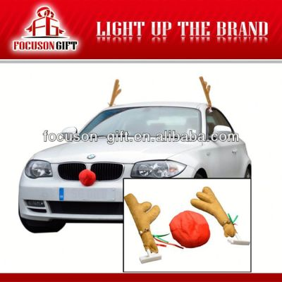 Promotion Christmas gift car with antlers