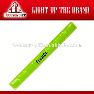 Promotional item full color printing slap bracelet