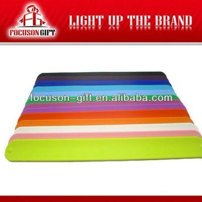 Advertising Logo printing rubber wristbands