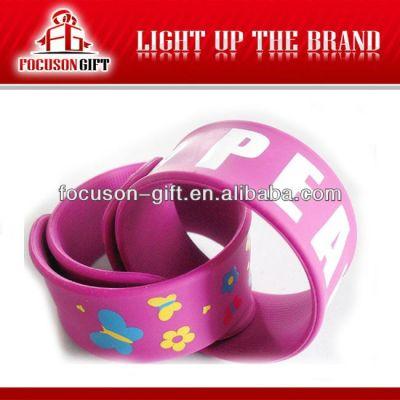 Advertising Logo printing rubber wristband