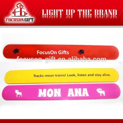 Advertising Logo printing personalized silicone wristbands