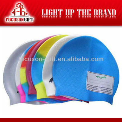 New Promotion products custom silicone swim caps