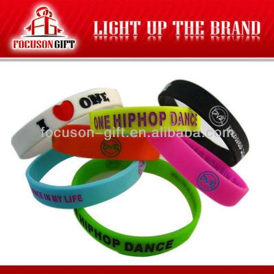 New Promotional Custom Silicone Wristband