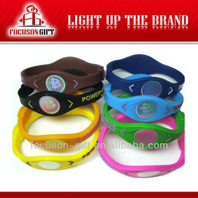 Promotion products silicone balance bracelet