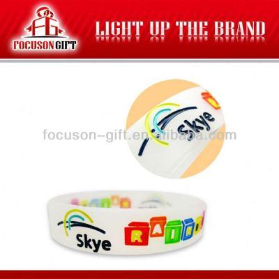 Promotional custom bulk cheap silicone wristbands