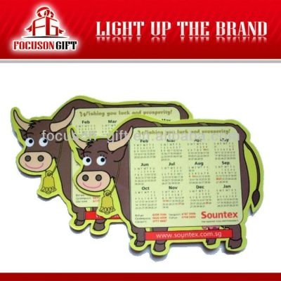 Promotional New Year Gift magnetic calendar